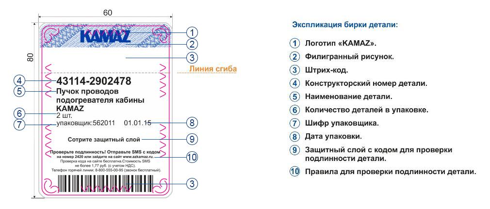 Запасные части КАМАЗ