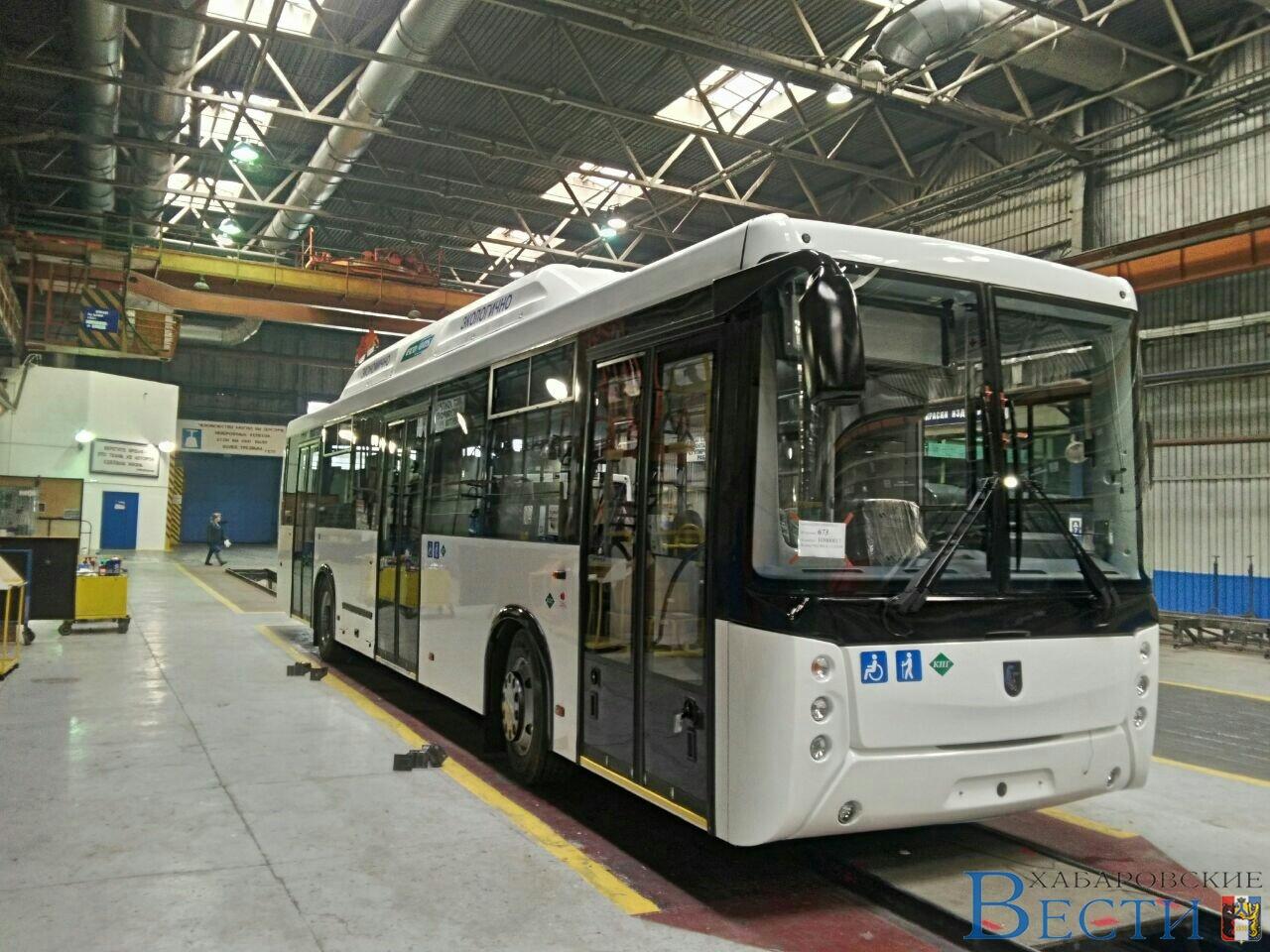 Автобусы НЕФАЗ для Хабаровска
