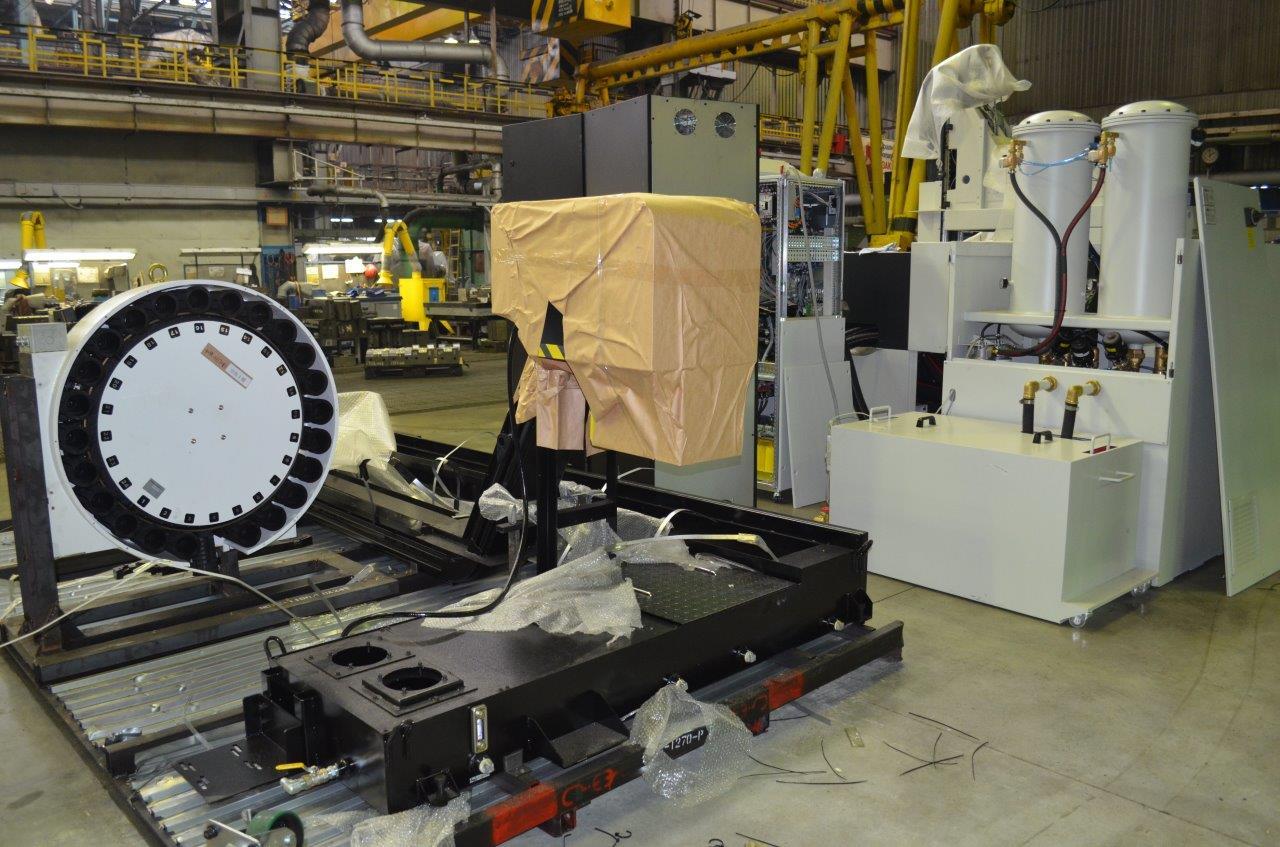 Новое оборудование на кузнечном заводе