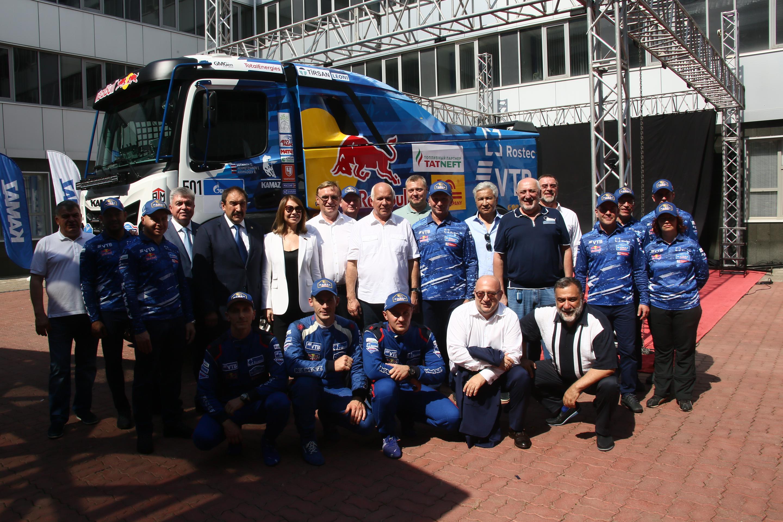 «КАМАЗ-мастер» презентовал спортивный грузовик поколения К5