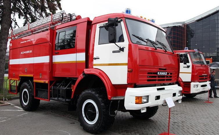 Автомобильное шасси КАМАЗ-43501 для нужд МЧС