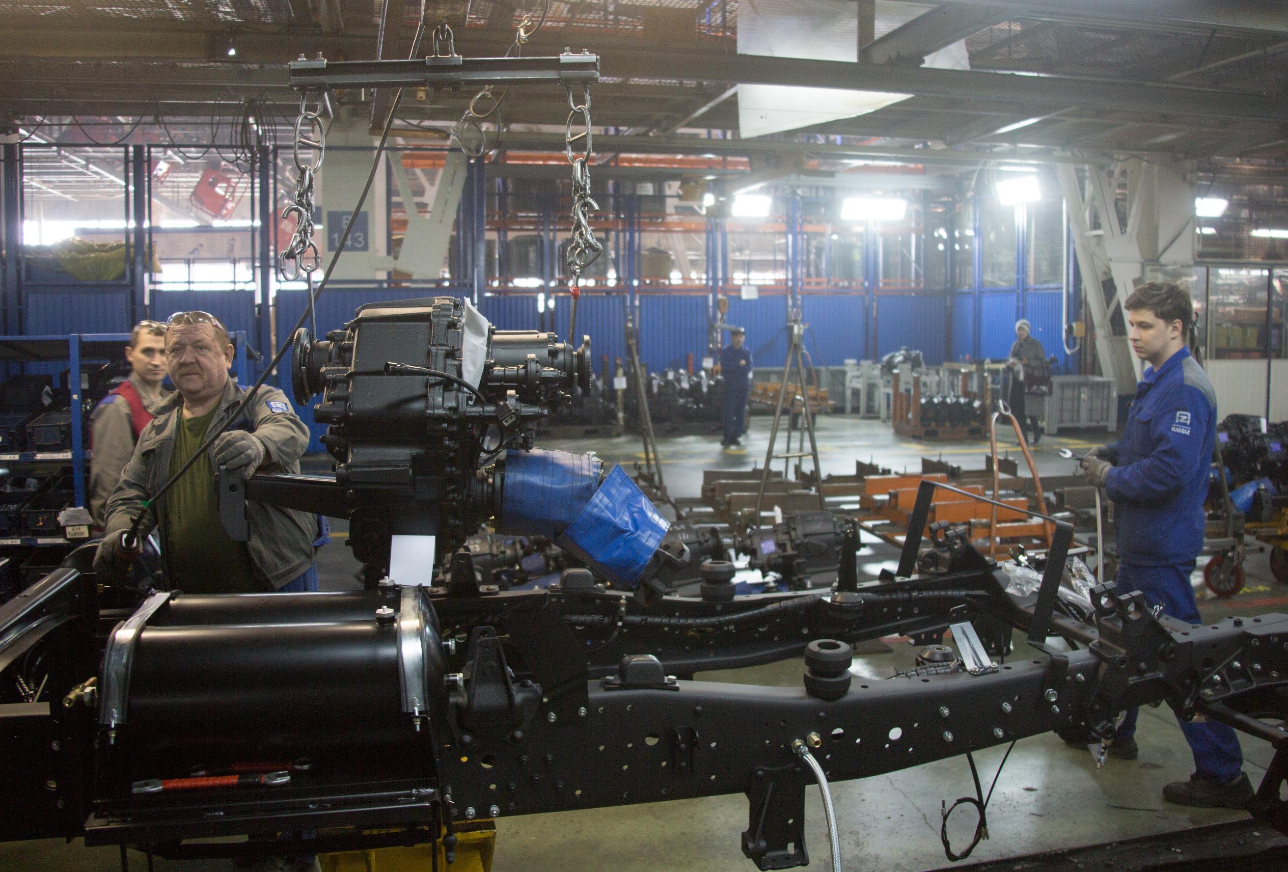 На «КАМАЗе» оптимизируют производственные потоки