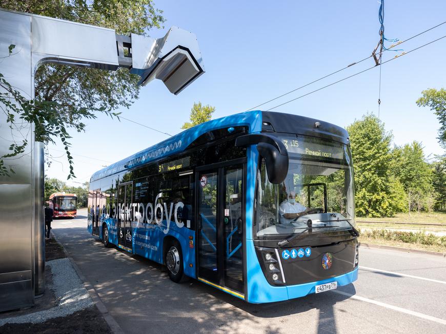 Электробус КАМАЗ в Казани: первые итоги