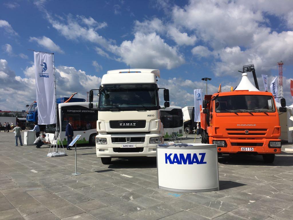 «КАМАЗ» показал новую технику в Екатеринбурге