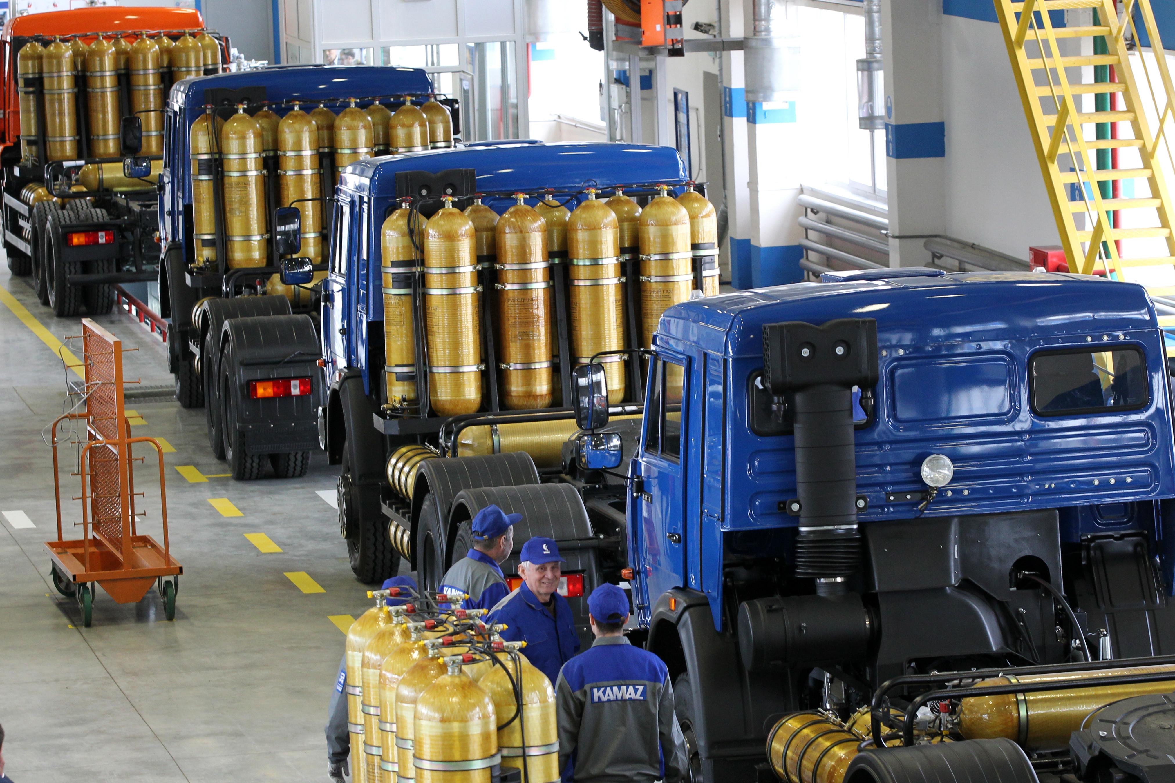 Газовый автобетоносмеситель 5814G6 на шасси KAMAЗ-65115