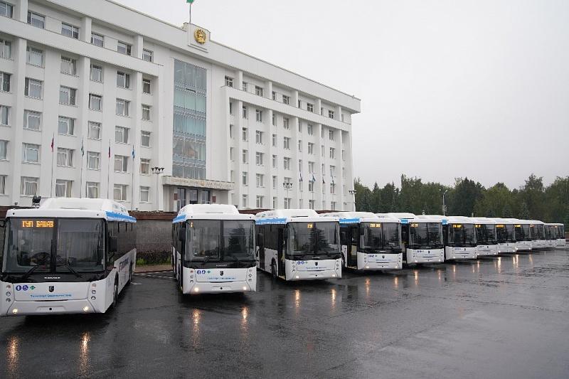 Газовые автобусы НЕФАЗ для «Башавтотранс»