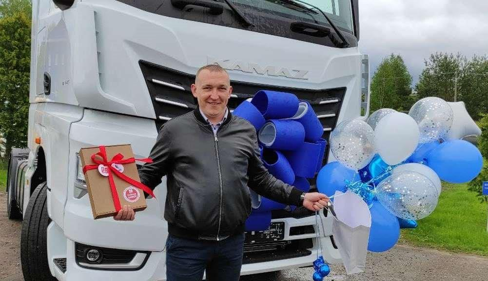 КАМАЗ-54901: первая продажа в Беларуси