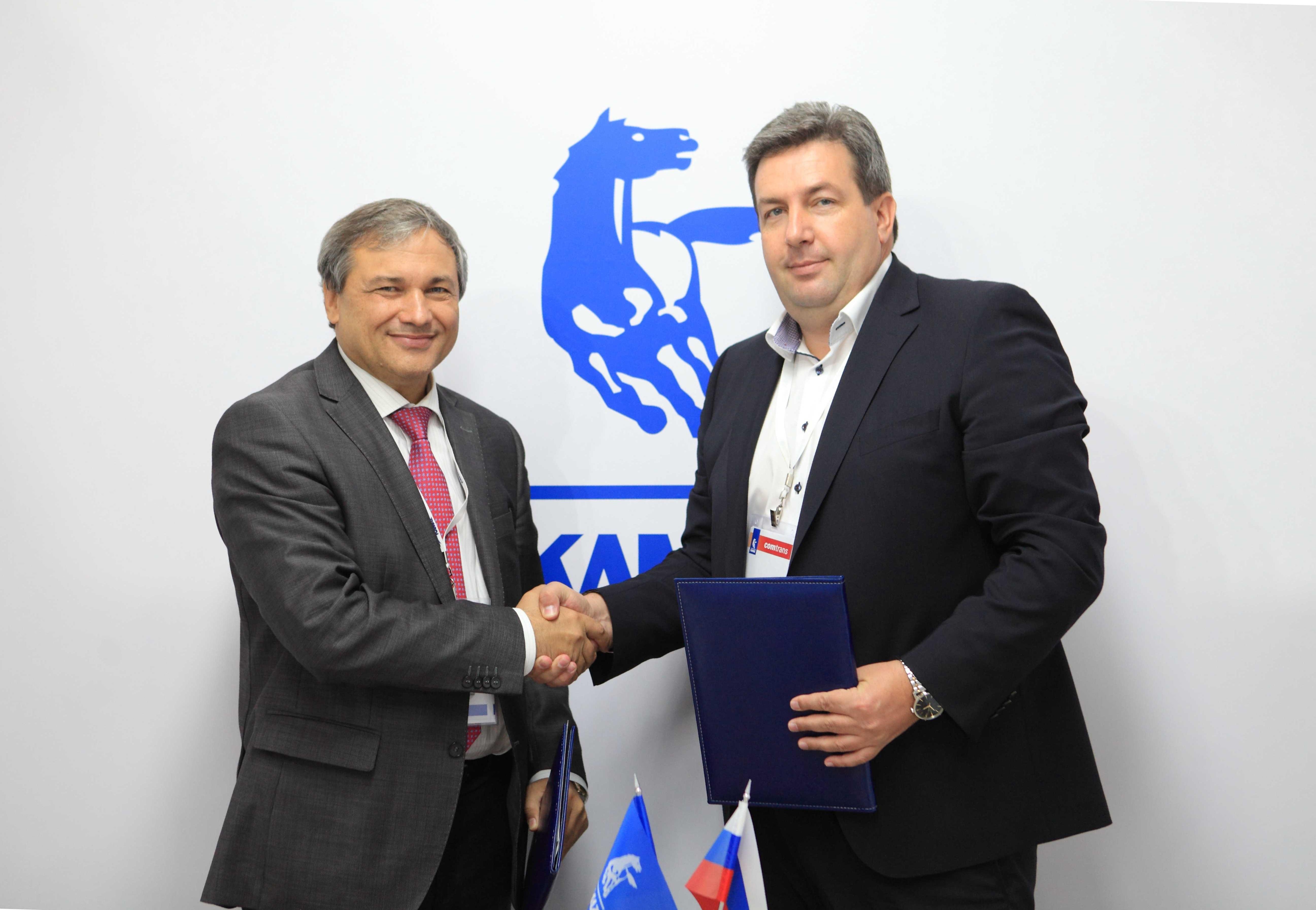 «КАМАЗ» и «Приоритет» подписали соглашение о сотрудничестве