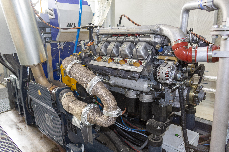 Новый испытательный стенд для газовых Р6