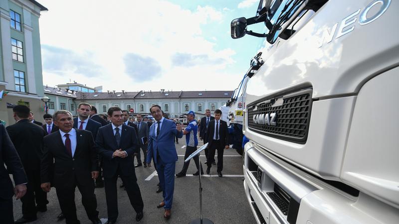 «КАМАЗ» на выставке предприятий Татарстана