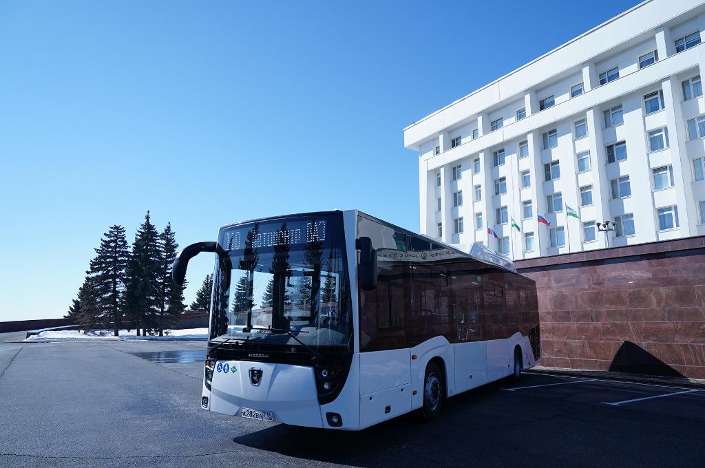 Рестайлинговый автобус НЕФАЗ для «Башавтотранса»