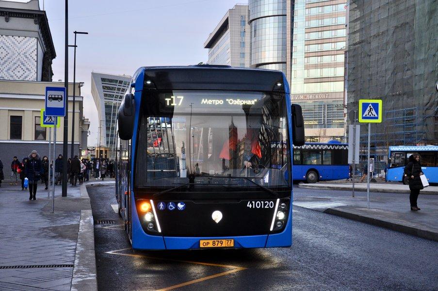 Электробусы КАМАЗ вышли на новый маршрут