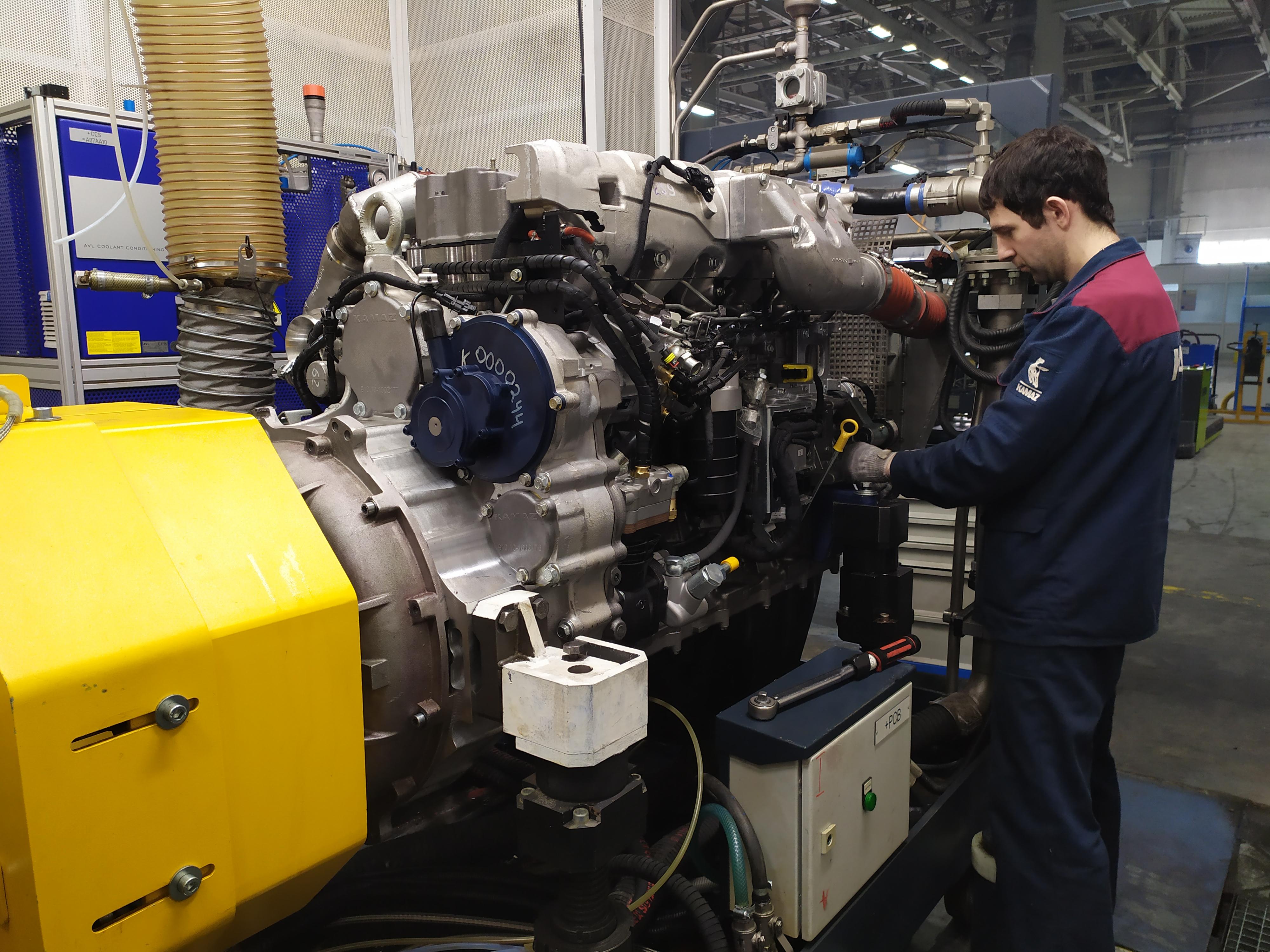 Новые стенды для испытаний двигателей Р6