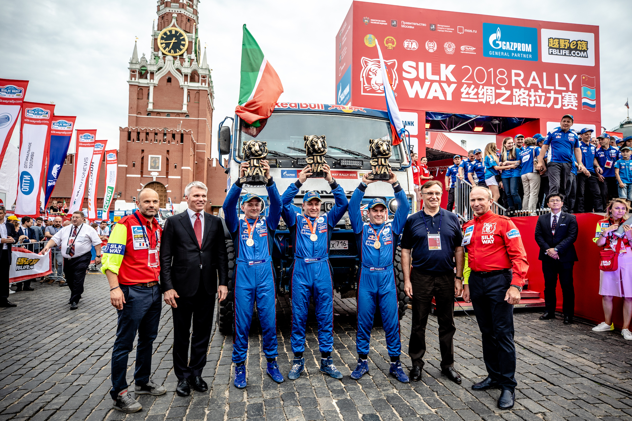 Объявлены экипажи команды «КАМАЗ-мастер» на ралли «Шёлковый путь-2019»