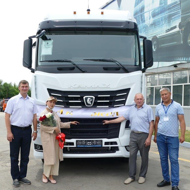 КАМАЗ-54901: первая продажа в Казахстане