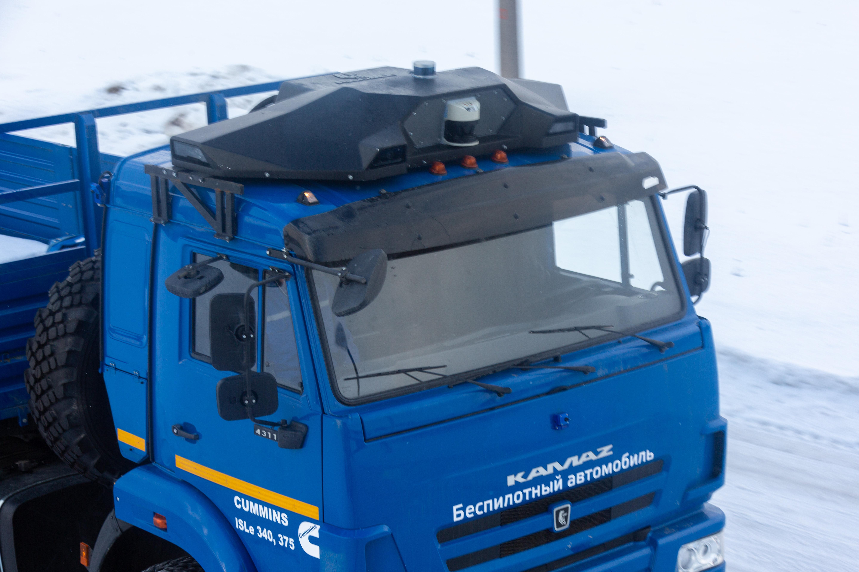 На «КАМАЗе» создан модуль автономного управления автомобилем