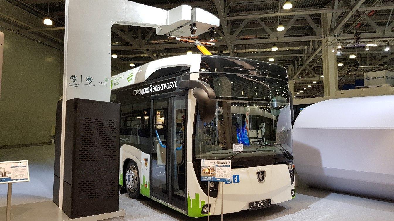Новый электробус на «Комтранс-2017»