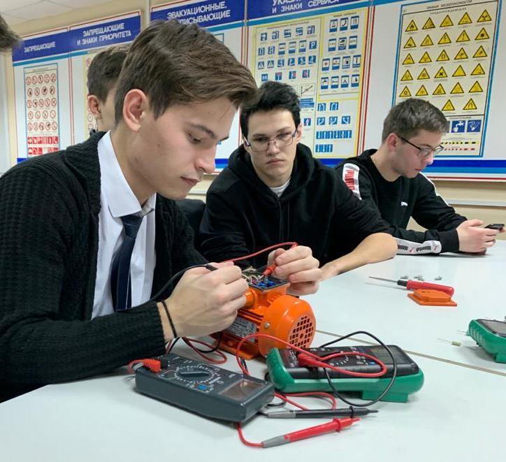 Мастер-класс для будущих техников-электриков
