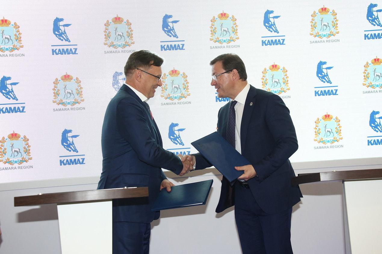 Соглашение о сотрудничестве «КАМАЗа» и Самарской области