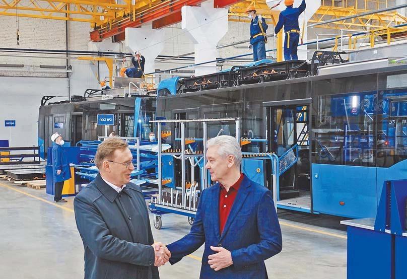 «КАМАЗ» открыл производство электробусов в Москве