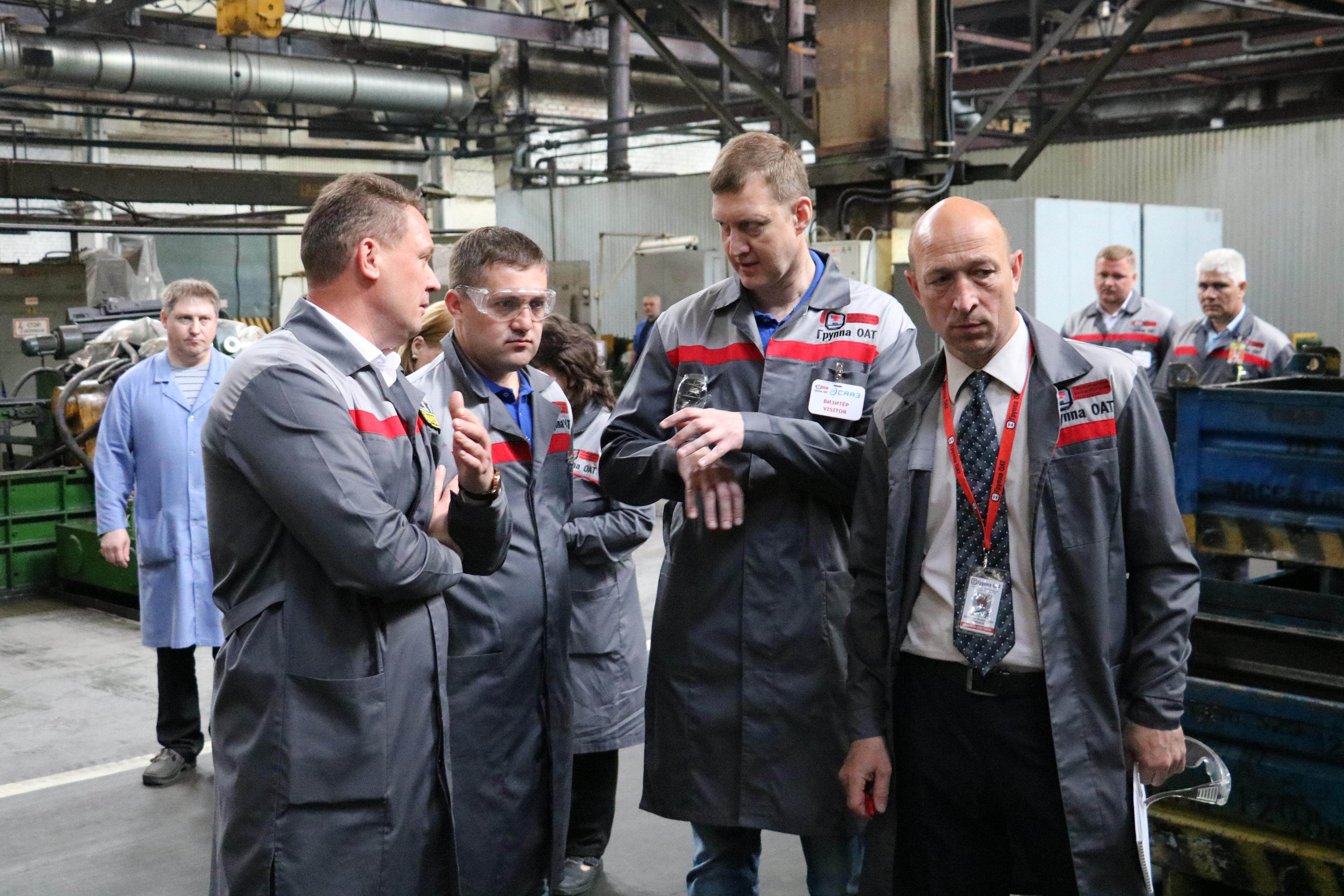 «КАМАЗ» делится опытом в области Производственной системы