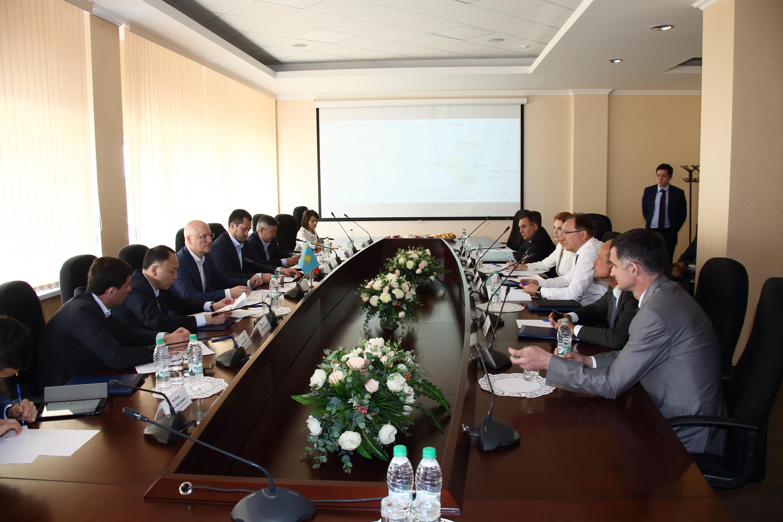 Делегация Казахстана на «КАМАЗе»