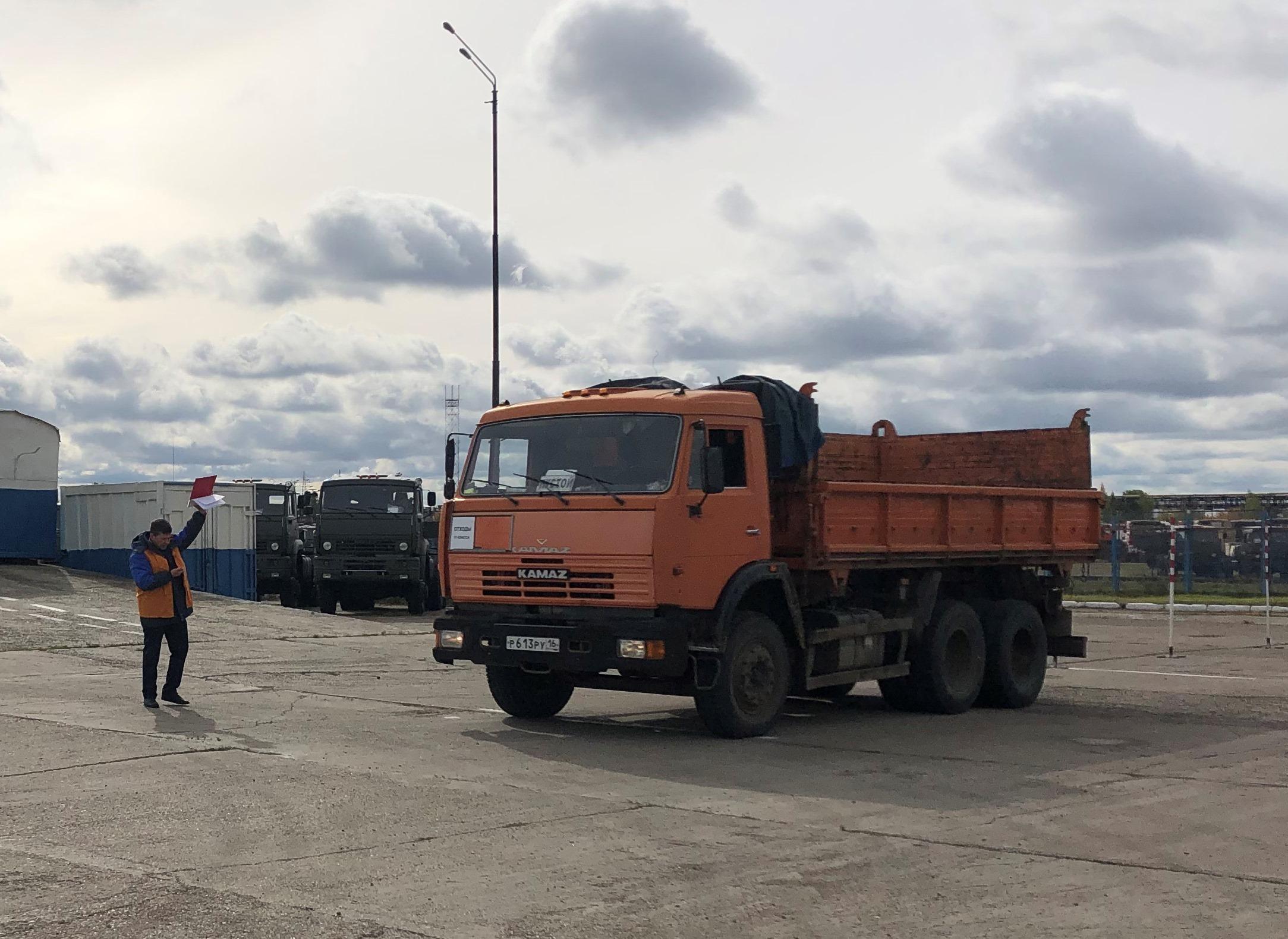 Конкурс профмастерства для водителей-испытателей «КАМАЗа»