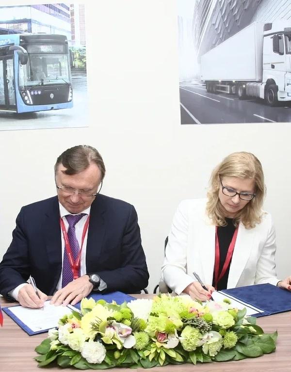 «КАМАЗ» и ABB будут развивать инфраструктуру для  электробусов