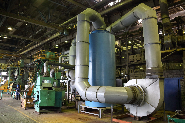 Новая вентиляционная установка для литейного производства «КАМАЗа»