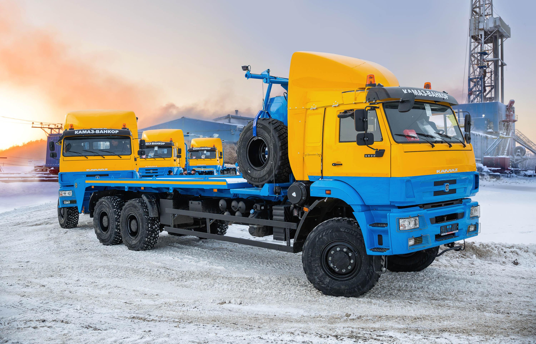 Спецтехника КАМАЗ для австрийской компании