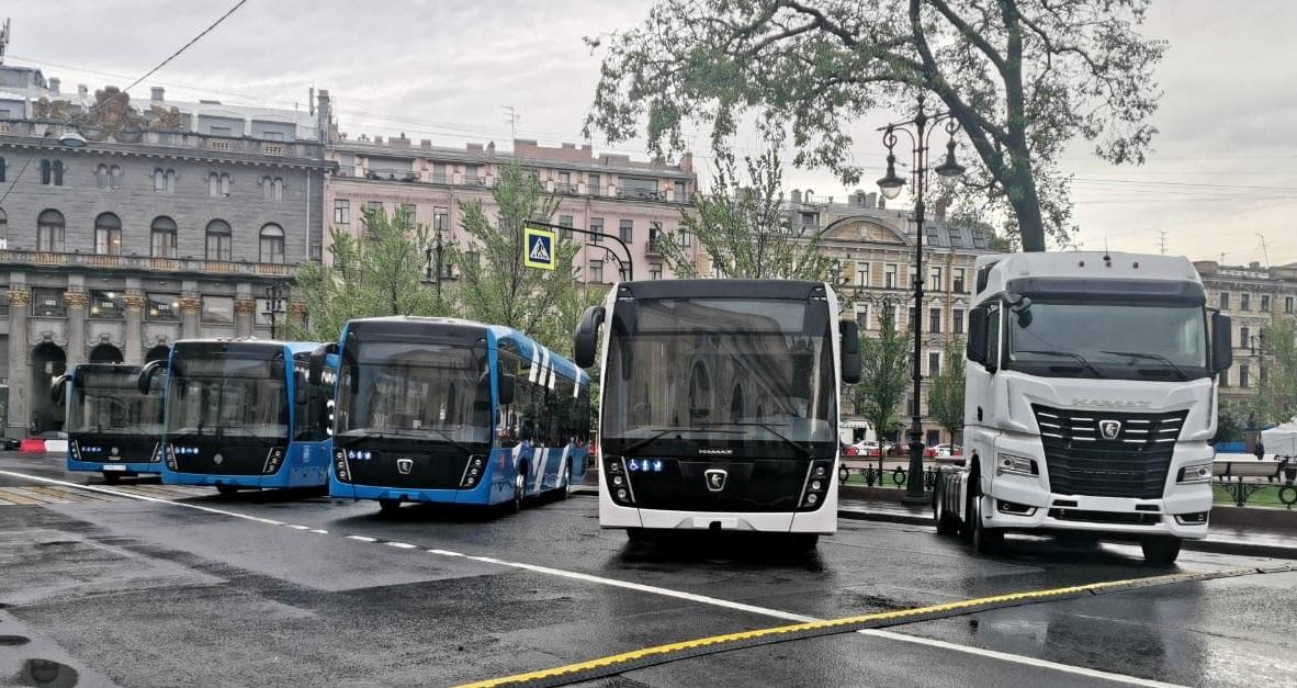 «КАМАЗ» на SPbTransportFest-2021