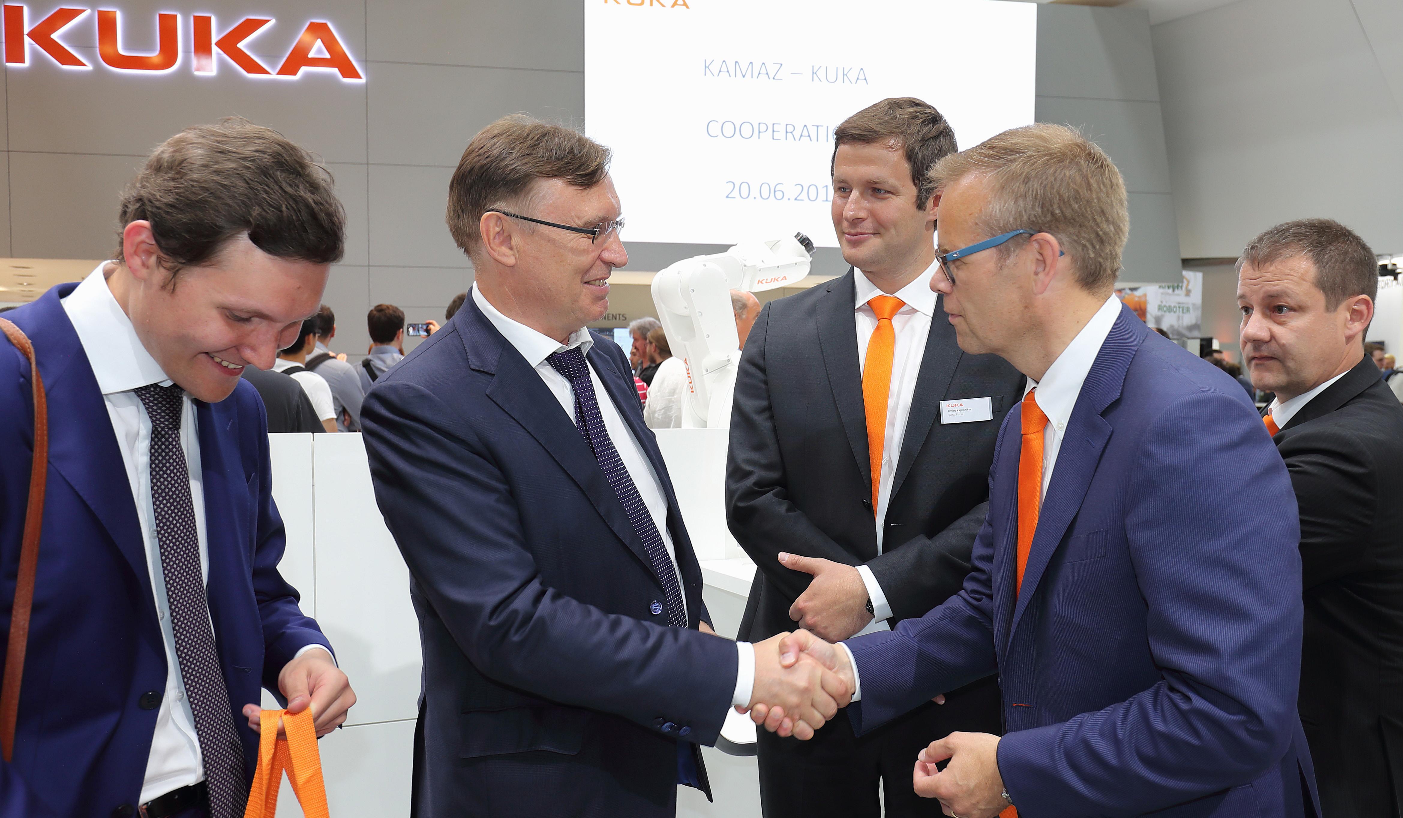 «КАМАЗ» и компания KUKA подписали соглашение о глобальном стратегическом сотрудничестве