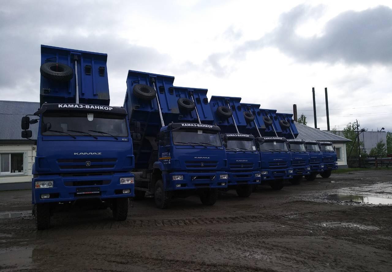 КАМАЗы в лизинг для коммунальщиков Нижневартовска