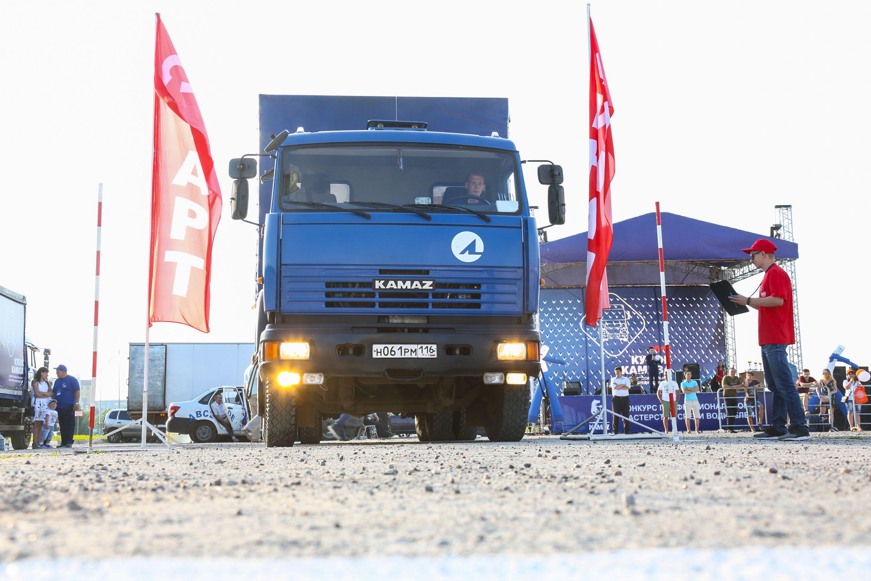 Водители автогиганта поборолись за «Кубок КАМАЗа»