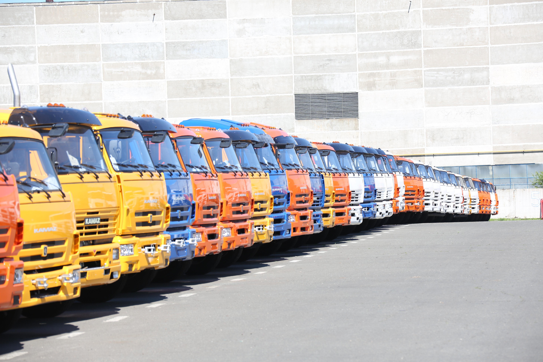 Автотехника КАМАЗ для перевозки опасных грузов