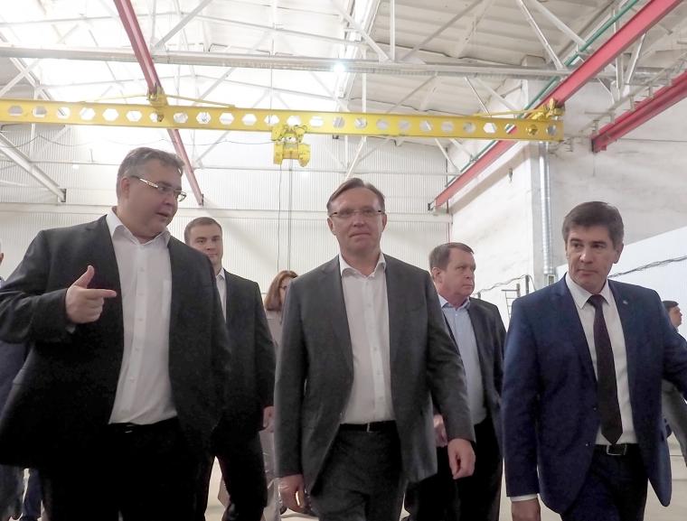 Сергей Когогин посетил индустриальный парк «Мастер» в Ставрополе