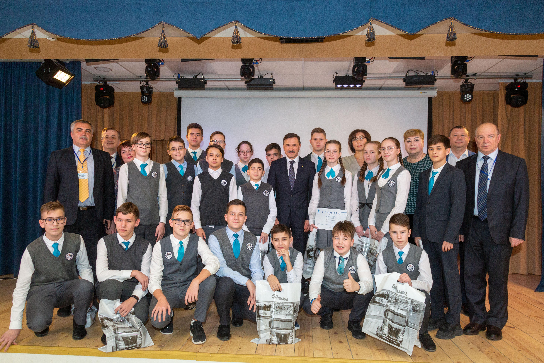 «КАМАЗ» на «Посвящении в учащиеся «Инженерного класса»