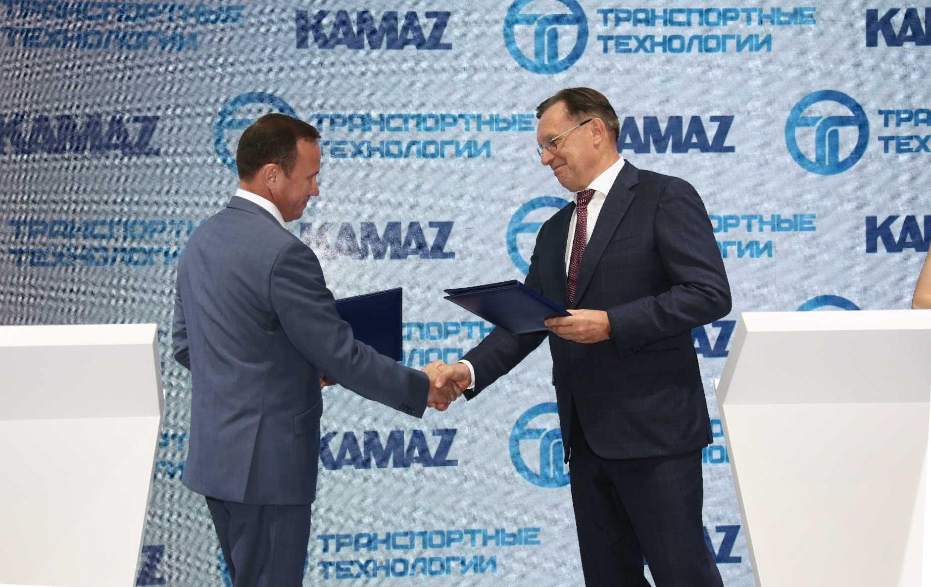 «КАМАЗ» и «Транспортные технологии» подписали соглашение о сотрудничестве