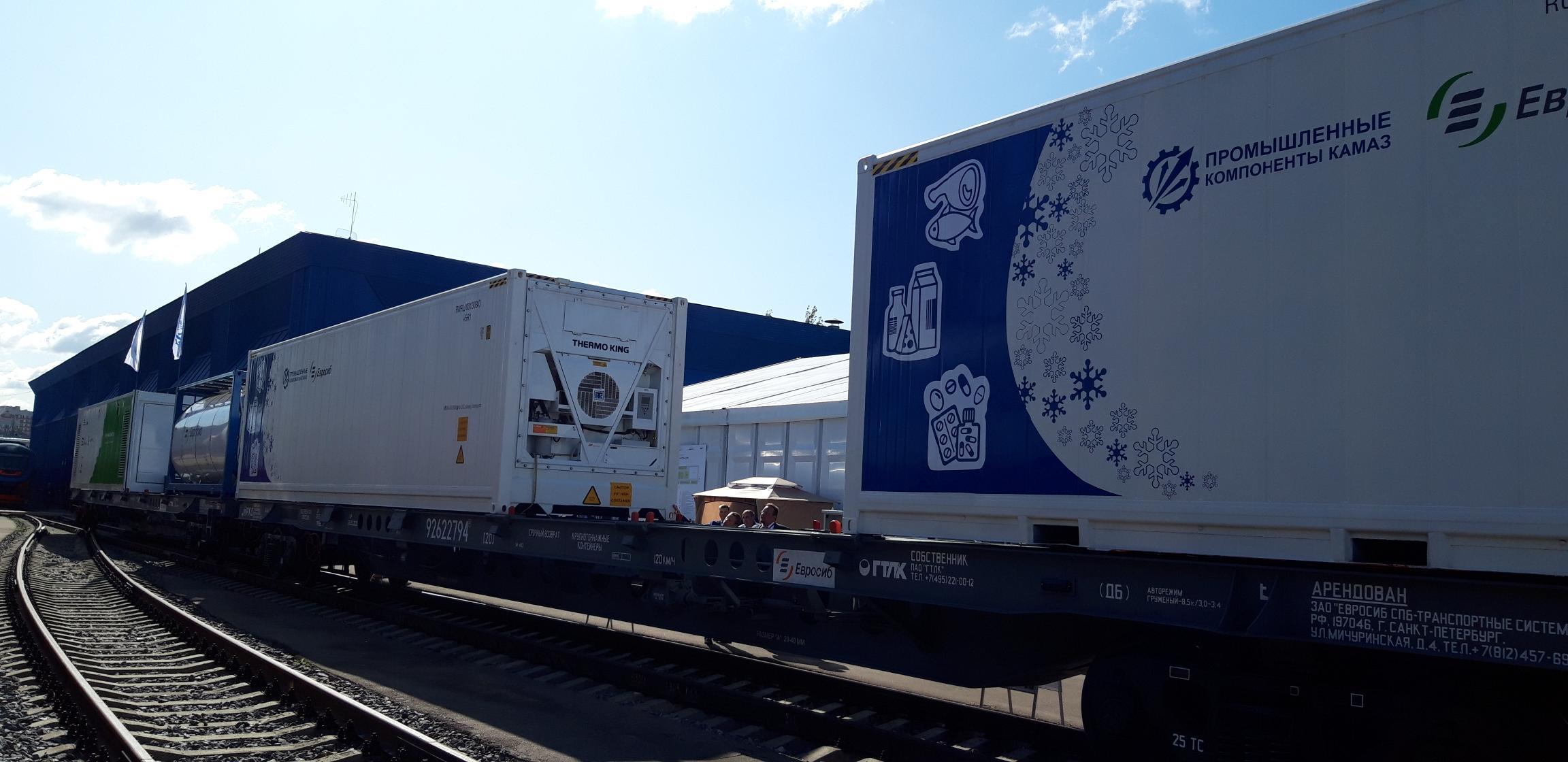 «КАМАЗ» на Международном железнодорожном салоне