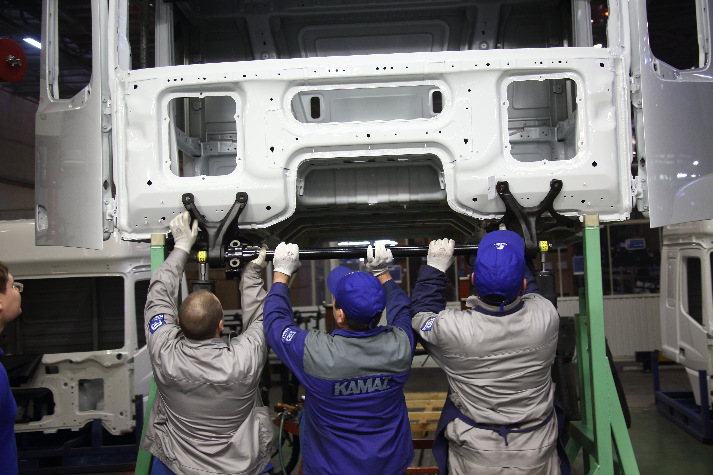 Первая кабина для КАМАЗа нового поколения