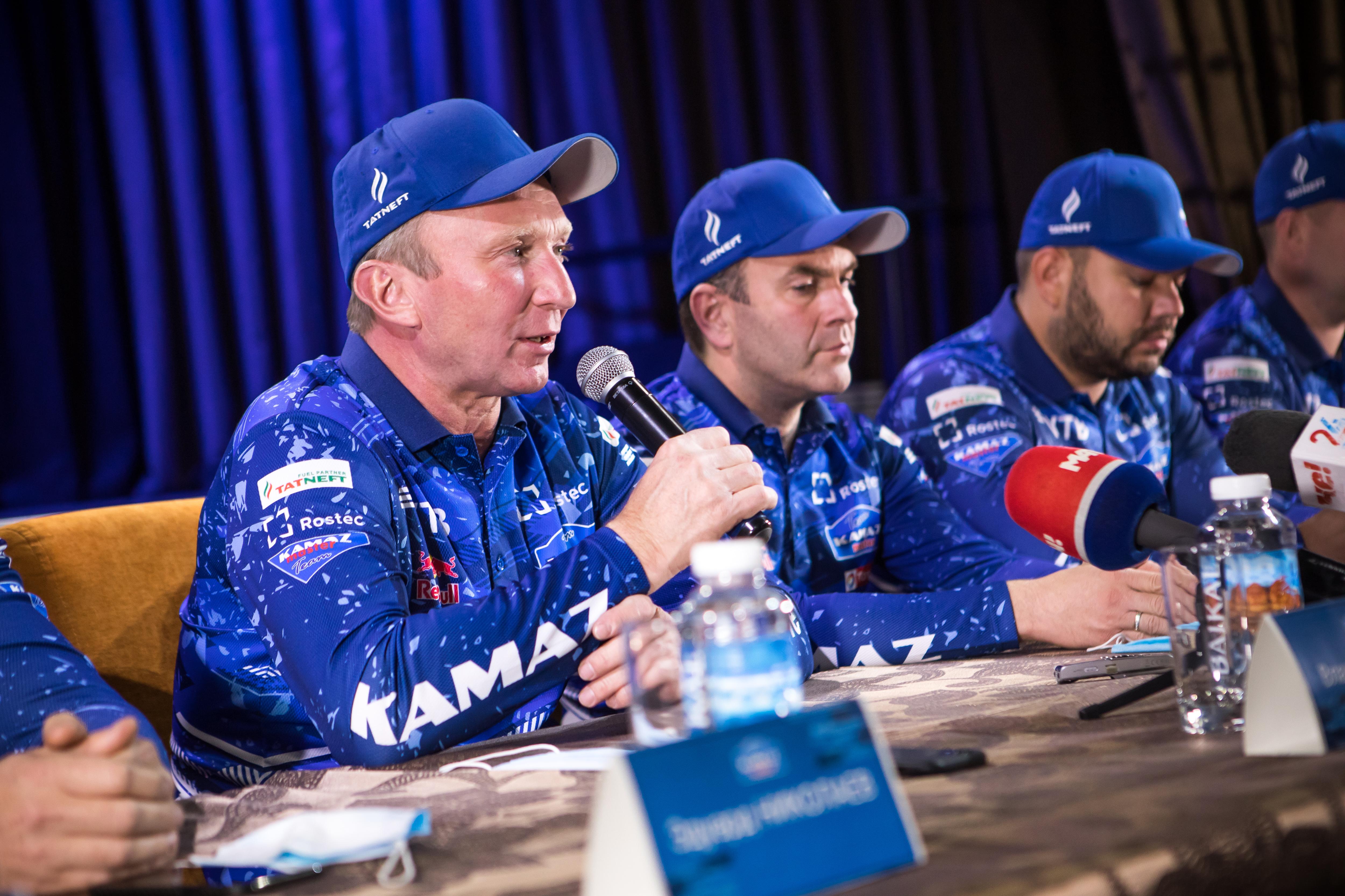 «КАМАЗ-мастер» объявил состав экипажей на ралли «Дакар-2021»