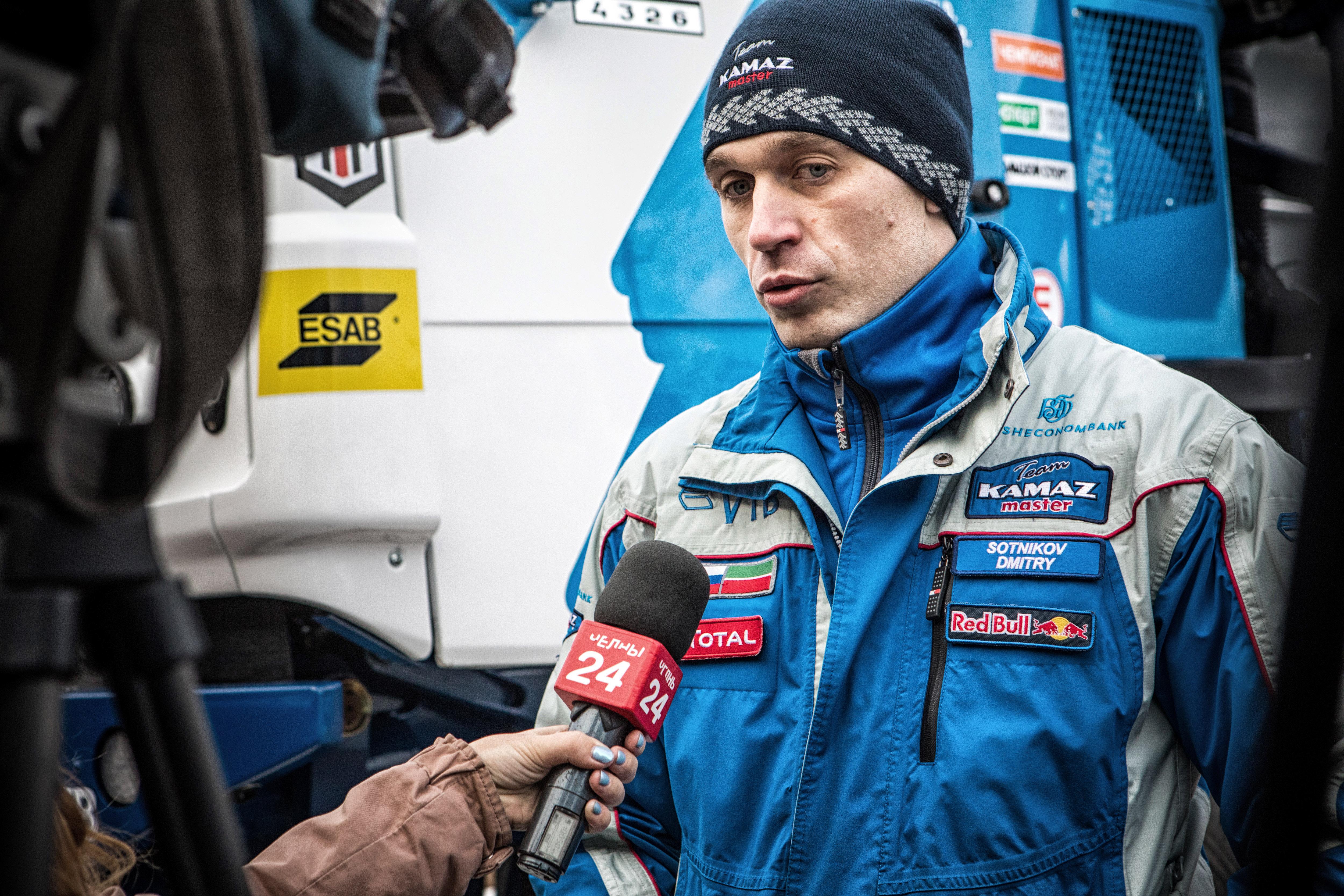 Дмитрий Сотников: «Буду работать на победу «КАМАЗа»