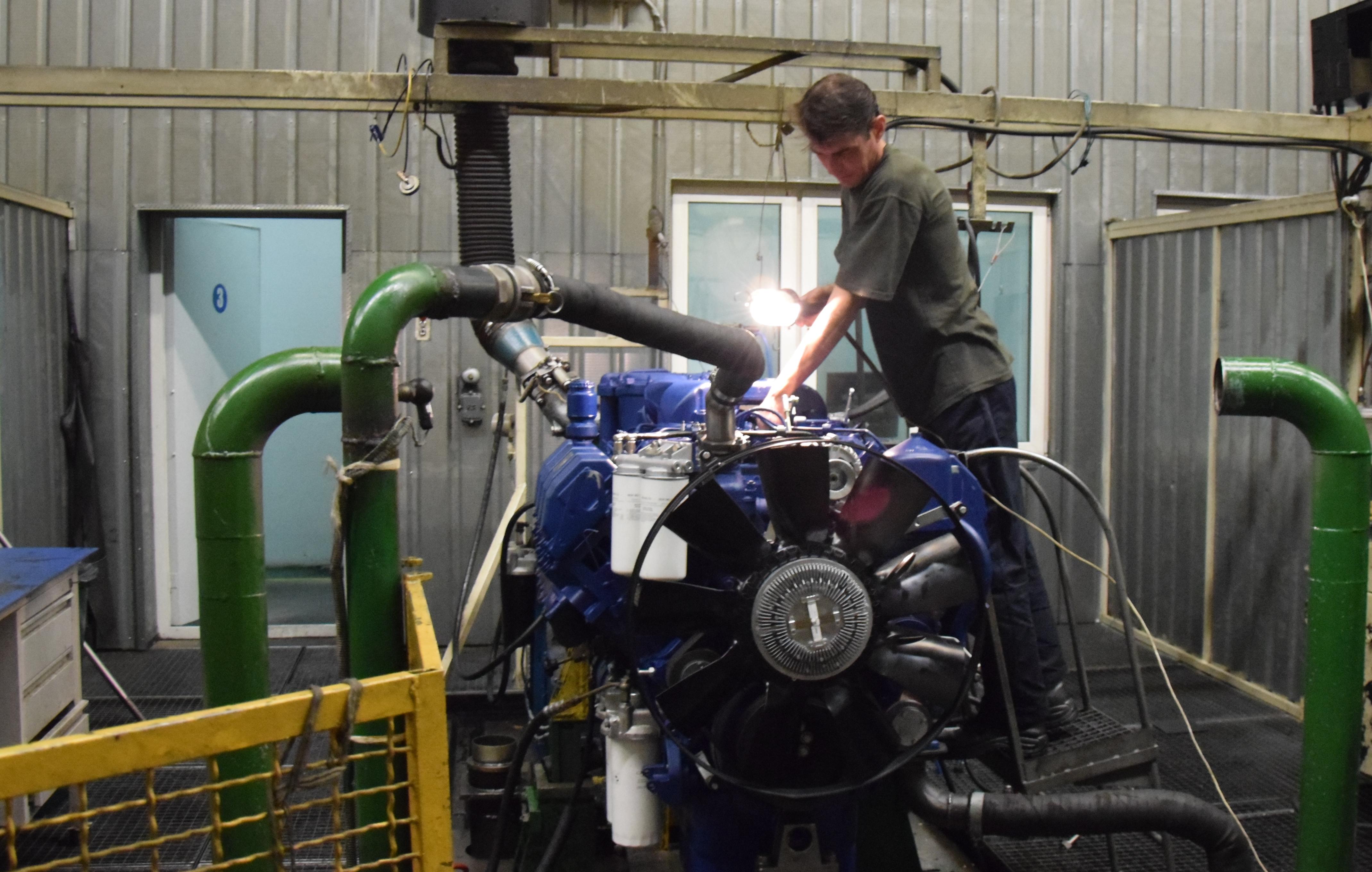 Новые тракторные двигатели от ТМЗ