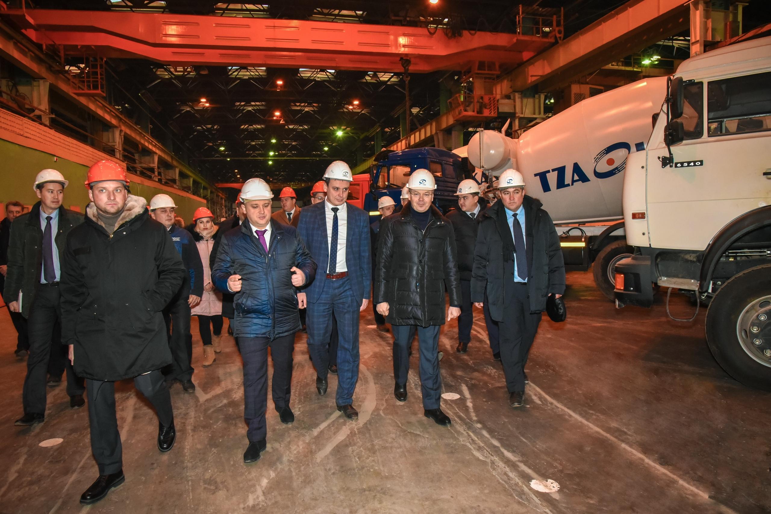 Правительственная делегация Башкортостана посетила «ТЗА»