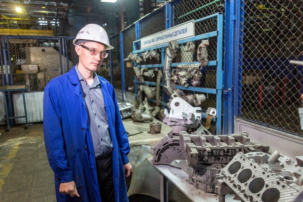 Продукция литейного завода «КАМАЗа» – для автомобиля «Аурус»