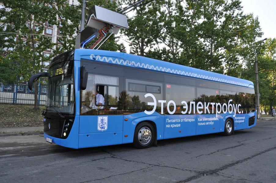 В Москве собраны первые 60 электробусов КАМАЗ