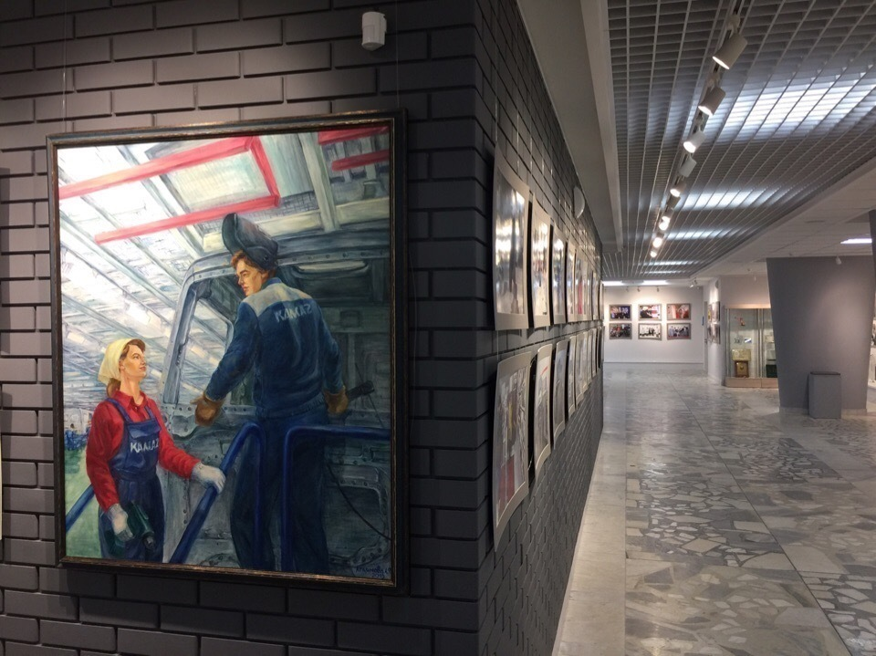 Выставка фотографий к юбилею «КАМАЗа»