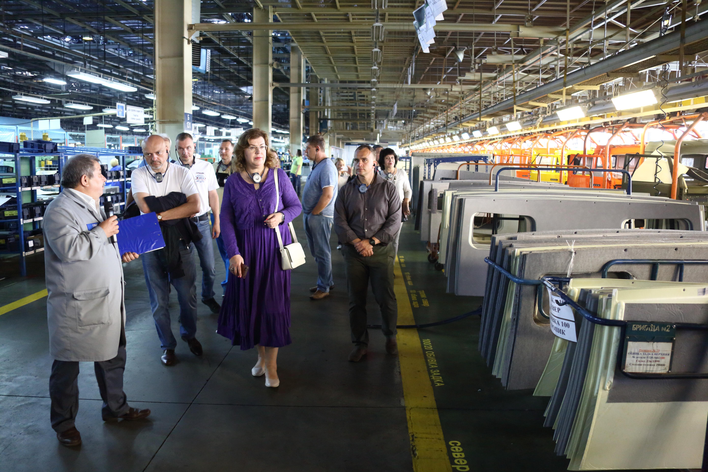 «КАМАЗ» посетила зампредседателя Госдумы РФ