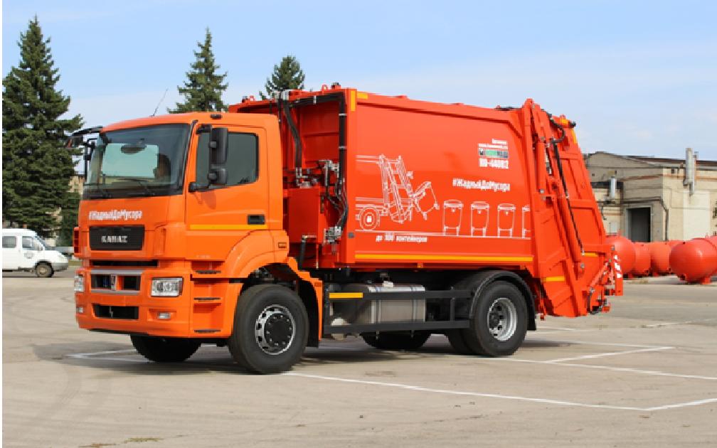 Автотехника КАМАЗ для коммунальных служб