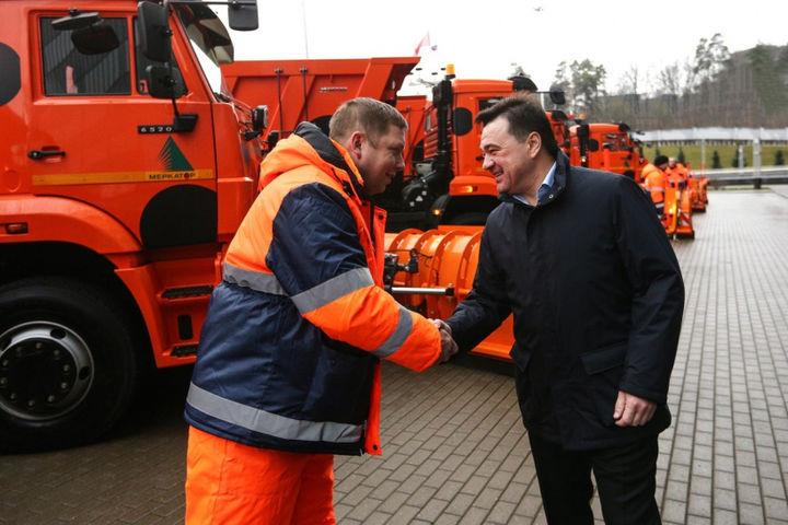 Дорожно-уборочные КАМАЗы для Московской области